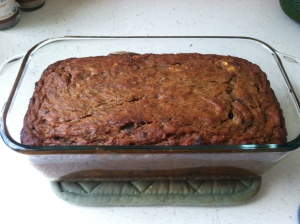 coconut flour banana bread pic