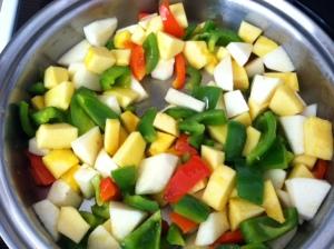 Chicken Veggie Saute pic 2