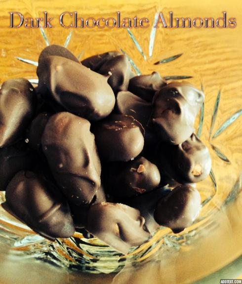 chocolate covered almonds 1