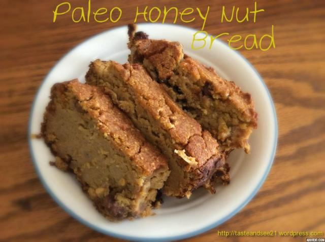 Paleo honey nut bread 5